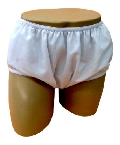 Calça Plástica Fechada Com Forro Adulto P / M / G / Eg   Nhc