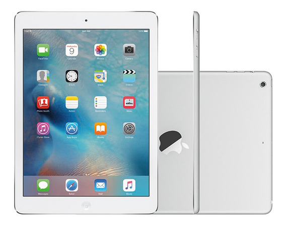 iPad Air 32gb Wi-fi + Celular Tela 9.7 Câmera 8 Mp Prata Oferta!