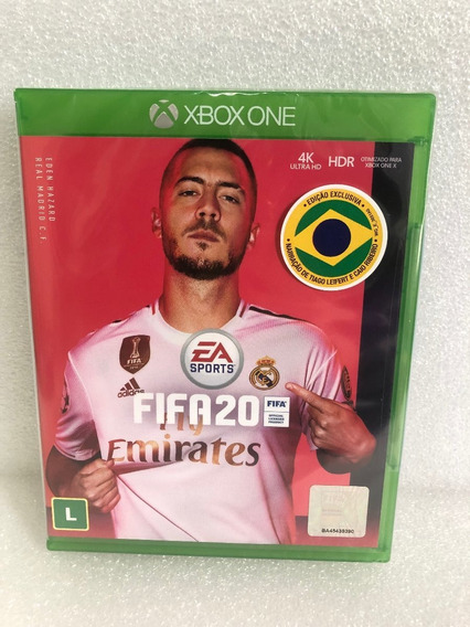 Jogo Fifa 20 Xbox One Mídia Física Cd Envio Imediato Oferta