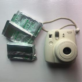 Fuji Instax 8 Com 3 Packs De Foto