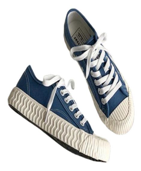 Tênis Estilo Jeans Chinesinho Vintage Moderno Conga Tenis De Lona Baixo Importado A Pronta Entrega Feminino E Masculino