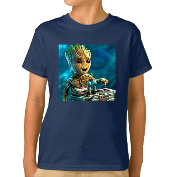 Remera Niño Niña I Am Groot Baby Avengers Vengadores M27