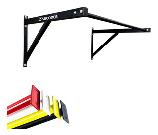 Barra Fixa De Parede E Crossfit Pull-up Bar Colors C/ Brinde