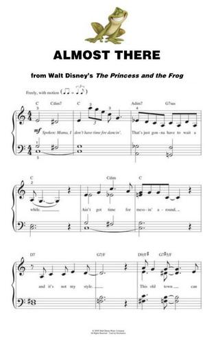 Partituras Piano Facil Disney Mi Primer Cancionero Ninos N 4 Mercado Libre