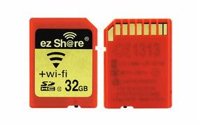 Cartão De Memória Sd Wifi Classe 10 32 Gb Flash Sdhc 32 Gb