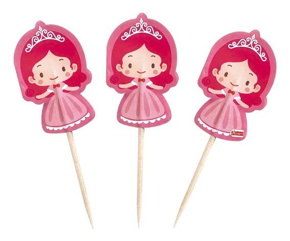 Pinche Princesas X 20 Cupcake Copetín - Ciudad Cotillón