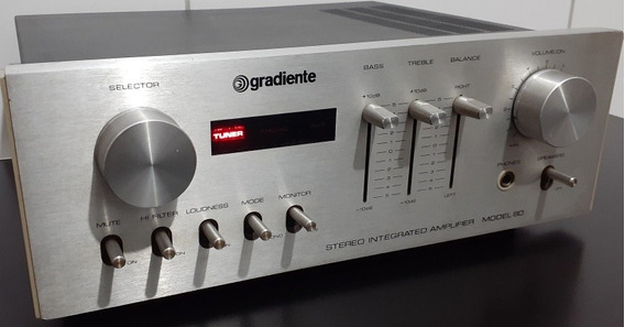 Amplificador Gradiente Model 80 Lindo 100% Func (ver Video)