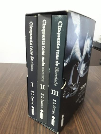 Trilogia Cinquenta Tons De Cinza