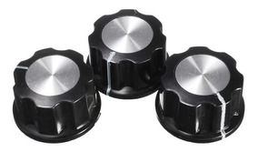 Knob Potenciometro 6mm Com Escala- Unitario