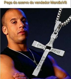 Cordão Aço Inox Vin Diesel Dominic Toretto Velozes Furiosos,