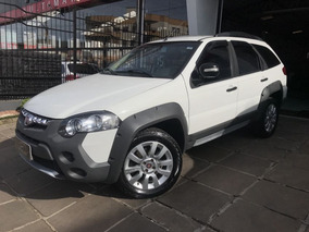 Fiat Palio Weekend Adventure 1.8 2015 Branco Flex