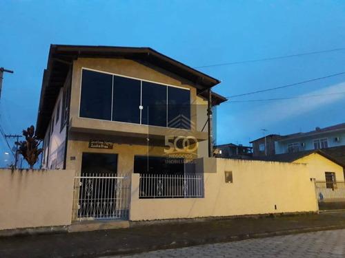 Excelente Casa Com 5 Dormitórios À Venda, 200 M² Por R$ 600.000 - Caminho Novo - Palhoça/sc - Ca0371