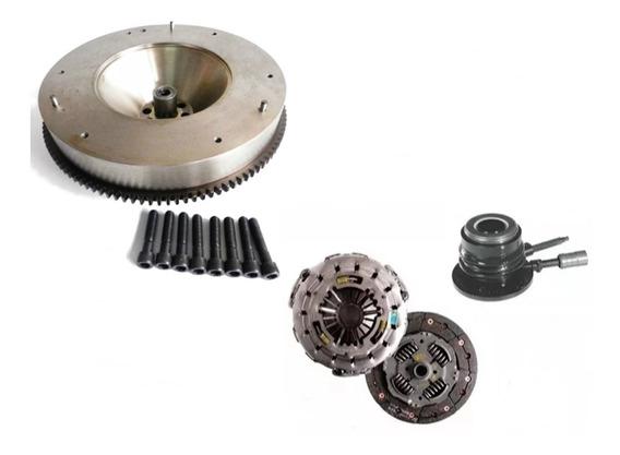 Volante Motor Mwm Com Kit Embreagem S10 Blazer 2.8 00 A 11