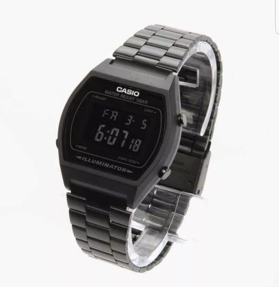 Reloj Negro Mate Vintage B640w Black