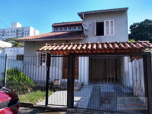 Casa Com 3 Dormitórios À Venda, 150 M² Por R$ 570.000,00 - Cavalhada - Porto Alegre/rs - Ca0473