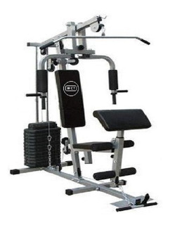 Estação De Musculação Aparelho Com 80kg Wct Fitness