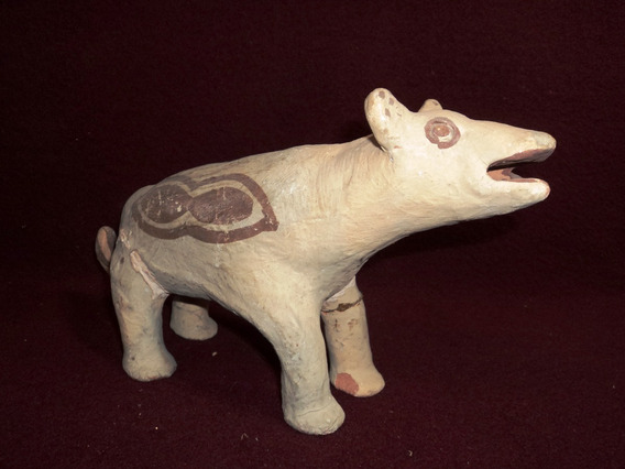 Figura Artesania Indigena Chiriguano Chane Perro Arcil(3950)