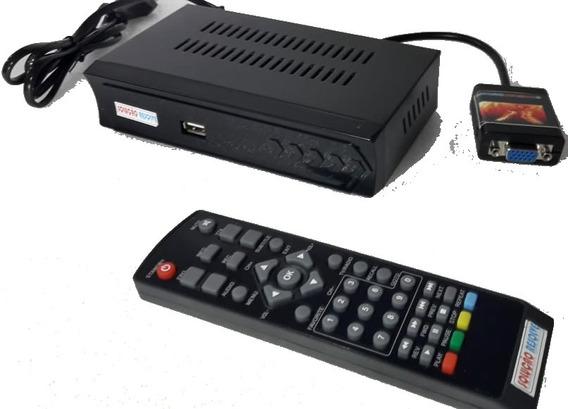 Transforme Seu Monitor Em Tv Digital Hdmi Com Controle