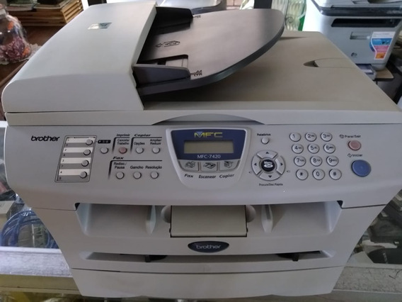Impressora Laserjet Brother Mfc-7420 Com Garantia
