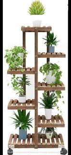 Jardín Vertical Con Rueditas, Macetas, Plantas, Mueble Jardi