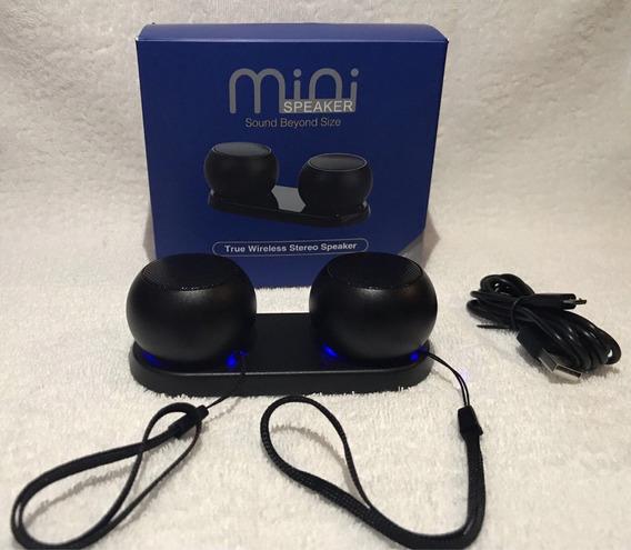 Mini Caixa De Som 3d Wireless