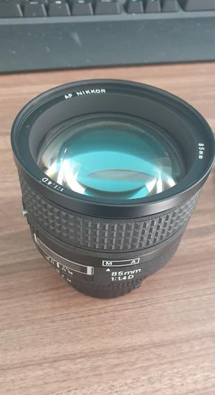 Lente Af Nikon Nikkor 85mm F/1.4d