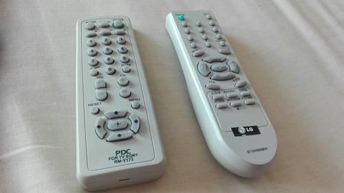 Control Remoto Para Televisión Universal Combo De 2