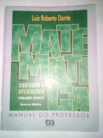 Matemática Dante Manual Do Professor