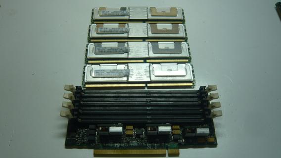 Kit De Memoria 4gb 4x1 Ddr2 P/ Servidor+expansor De Memoria!