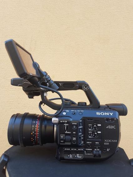 Sony Pxw Fs5 Mark 1 Xdcam Super 35 Câmera Filmadora