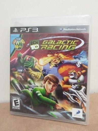 Jogo Ben 10 Galactic Racing Mídia Física Ps3