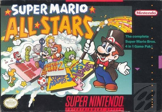 Super Mario All-stars Snes Em Mídia Digital