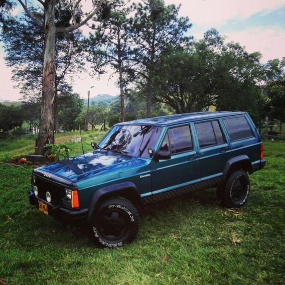 Jeep Cheroke Motor 4.0 1995 Verde Esmeralda 5 Puertas