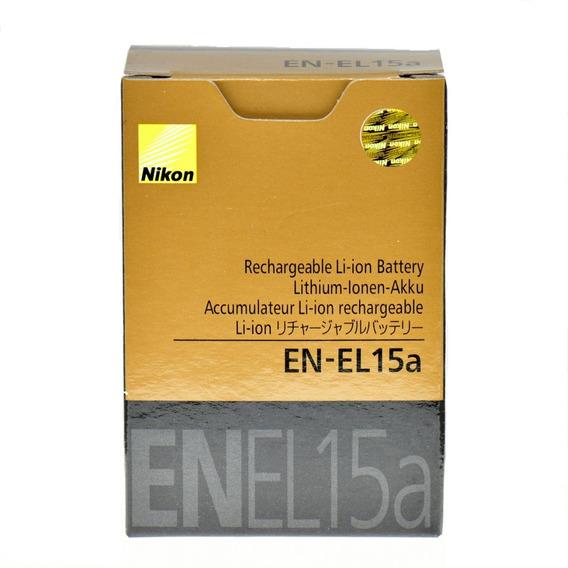 Bateria Nikon-original-100% En-el15a D7100 D600 D800 D850