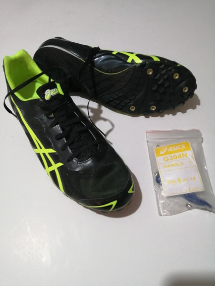 Spike Tenis Picos Para Atletismo Asics Velocidad Mod. G304n