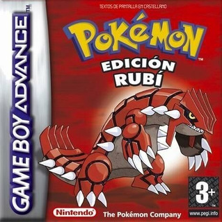 Pokemon Rubi Original Espa Con Caja Gba Pokemon Store Chile