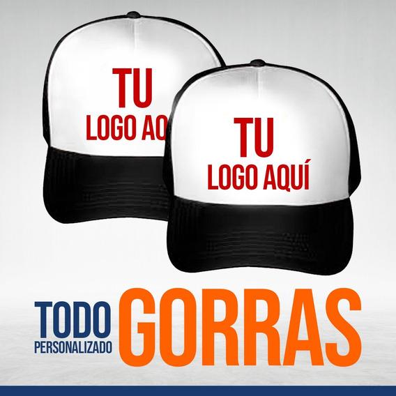 Gorras Truck Con El Diseño Que Gustes Personaliza Pack 12 Pazas