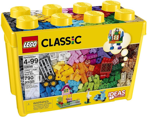 Caja Lego Classic 10698 Grande 790 Fichas Original Armar