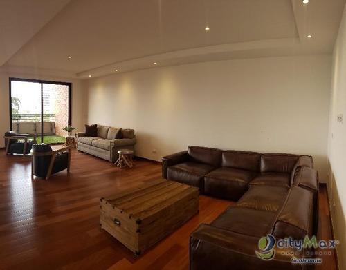 Apartamento De Lujo En Venta En Zona 14 Guatemala - Pva-012-07-13-2