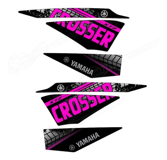 Kit Adesivo Faixa Crosser Xtz 150 Personalizado M9 Yamaha