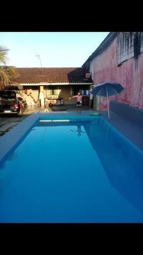 Imagem 1 de 8 de Casa Com 2 Dormitórios À Venda, 70 M² Por R$ 215.000 - Balneário São Jorge - Itanhaém/sp - Ca0306