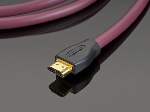 Imagen 1 de 3 de Cable Hdmi Marca Transparent Modelo Performance 1 Metro