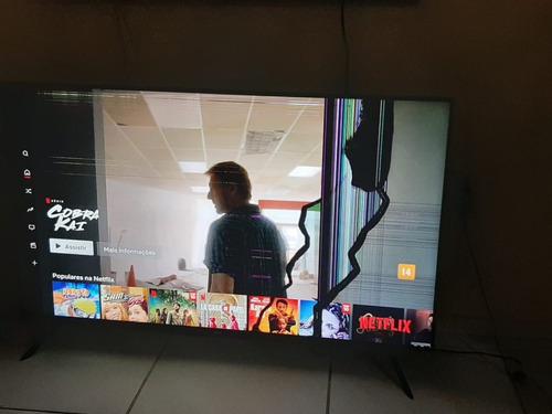 Vendo Tv  Samsung 50 Cristal Com A Tela Quebrada