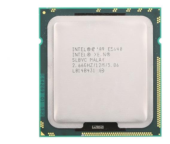 Cache Do Processador Intel® Xeon® E5640 12m 2,66 Ghz 5,86 Gt