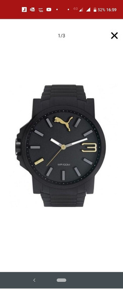 Relógio Puma Preto Masculino. Baixei O Preço 40% Pra Vender