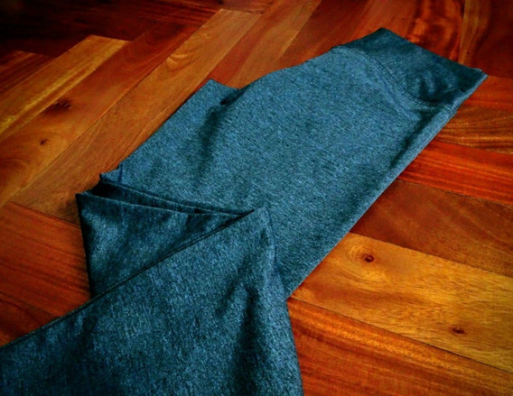 Calza Elastizada Azul Cintura Ancha Talle 1