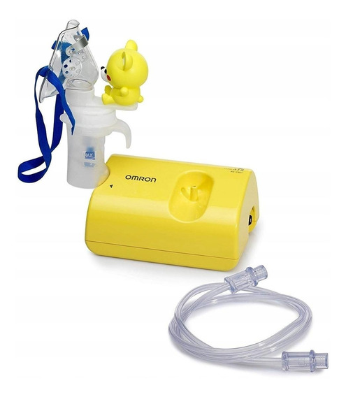 Nebulizador de compresor Omron NE-C801KD amarillo 110V/220V