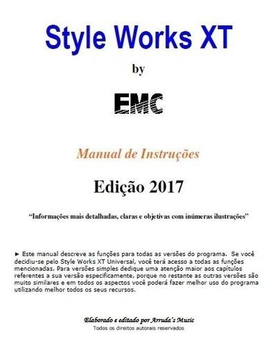 Manual Pdf Style Works Xt Universal Ilustrado (português)
