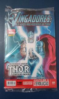 Hq Vingadores- Os Últimos Atos De Thor O Deus Do Trovão Nº 9