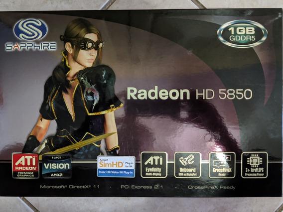 Placa De Vídeo Radeon Hd 5850